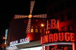 montmatre moulin rouge